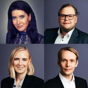 (1) Rickmann, (2) Neu, (3) Herrmann, (4) Lemke, Foto: TK Elevator